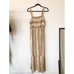 NWT boho striped maxi dress XXL